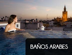 Exclusivos baños árabes en Sevilla