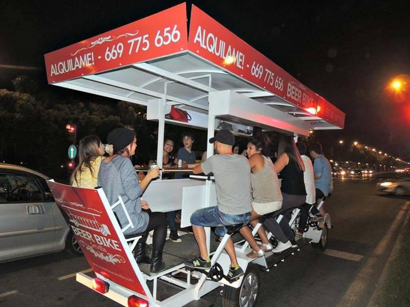 Beer Bike de Crazynight Sevilla 3