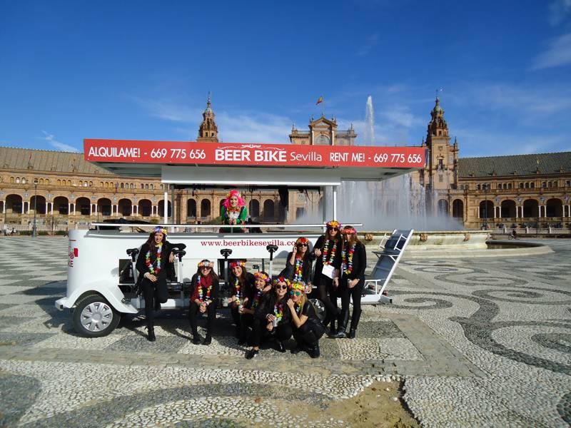Beer Bike de Crazynight Sevilla 4