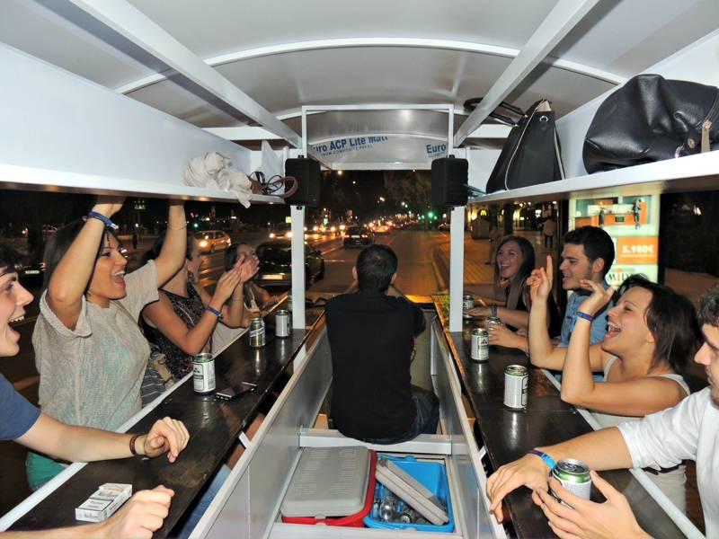 Beer Bike de Crazynight Sevilla 5