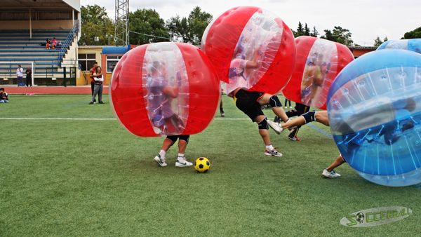 bubble football Sevilla