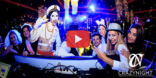 Video de Despedidas de soltera Sevilla Crazynight