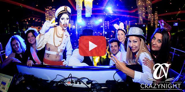 Video de Despedidas CrazyNight en Sevilla