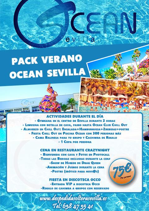 Fiesta Verano Ocean de Despedidas Sevilla Crazynight Nuevo!!!